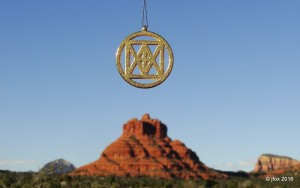 "Universal ""I AM"" over Bell Rock"
